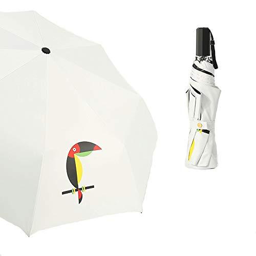 Rain Gear 2019 Fashion Portable Windproof Travel Umbrella Personality Novelty Middle Finger Black Umbrella Cool Impact Fold Umbrella New Umbrellas