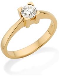 Miore MC003YC Rings 18Carat (750) Yellow Gold with IGI Certificate for Brilliant-Cut Diamond 0.30ct