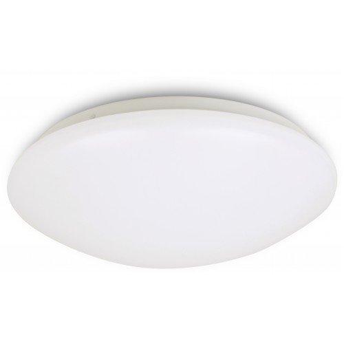 LED Deckenleuchte SPIN ARIES, LED Deckenlampe 28w, rund, weiss, 6000K, Kaltweiß, 2480 Lumen entspricht 250 Watt Glühlampe, Durchmesser: Ø32cm, IP20, LED Wandleuchte modern, helle innen Leuchtmittel