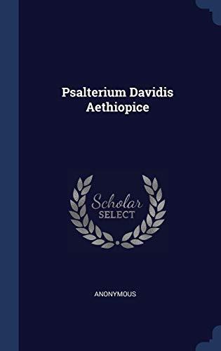 Psalterium Davidis Aethiopice
