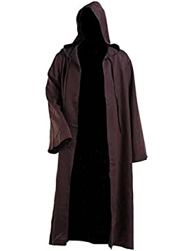 Hombres con capucha capa disfraz de caballero Cool Cosplay disfraz