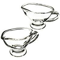 Master Class-Mini Artesà salsa Gravy barche %2F brocche _, 40 ml, in vetro, (confezione da 2)