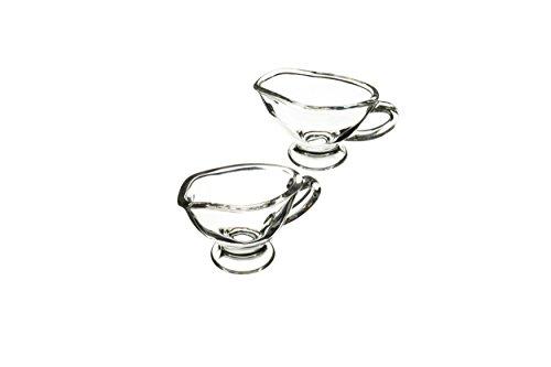 Master Class artesà Mini stellenpool Boote/Sauce Krüge, 40ml-Glas (Set von 2) Serveware-serving-sets
