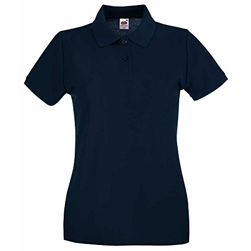 Fruit of the LoomDamen T-Shirt Blau - Deep Navy