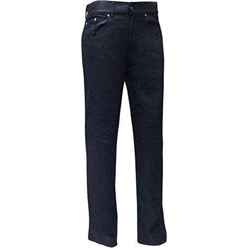 #bull-it Herren Öl Haut SR6Motorrad Jeans Pants schwarz lang 34/W40#