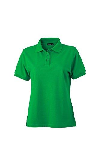 Polo di alta qualità con polsini Classic Polo Ladies Uni sport polo manica corta in diversi colori Taglia S à 2XL fern-green