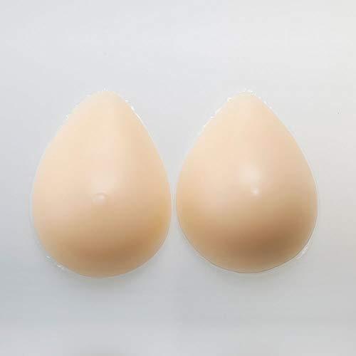 LMM Falsche Brust nach Mastektomie, Silikonbrust mit kleinem Kopf, geeignet für Transgender, Crossdresser, Transvestiten und Transen,1/500g/A -