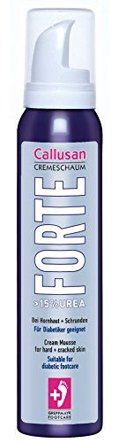 Callusan Cremeschaum Forte 125ml, 1er Pack (1 x 125 ml)