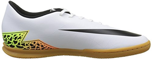Nike Hypervenom Phade Ii Ic, Chaussures de Football Compétition Homme, Blanc Blanc - Blanco (Blanco (White/Black-Total Orange-Volt))