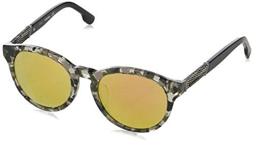 Diesel Round Eye, Montures de lunettes Mixte Adulte, Noir (Nero Tortoise), 52