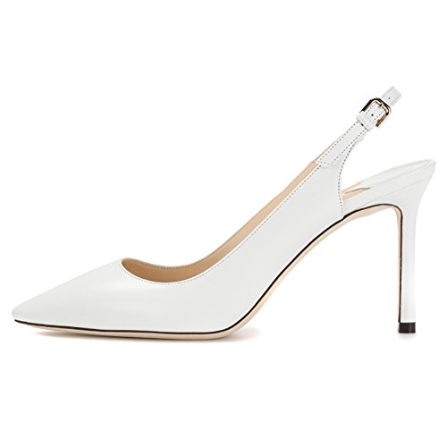 EKS Cinturino Dietro La Caviglia Donna Bianco