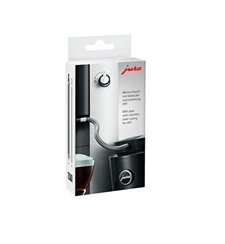Jura 24112 Milchschlauch mit Edelstahlummantelung, Silber -
