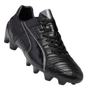 Puma King II FG - Botas de fútbol de Cuero para Hombre Azul Blanco y Negro 0e5de8d51c9f9