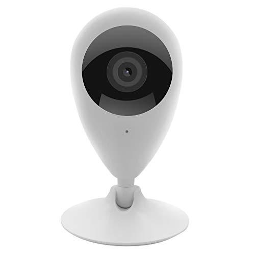 HSKB 360 WiFi Smart Infrarot Nachtsicht HD Kamera, Überwachungskamera, Steuerbar mit Bewegungsmelder, 2 Wege Audio, IR Nachtsicht dreh und schwenkbare WLAN Netzwerkkamera für Innenbereich -