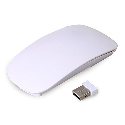 Touch Mouse RF 2,4G Wireless Ultra Sottile per Apple MAC + Mini USB Ricevitore