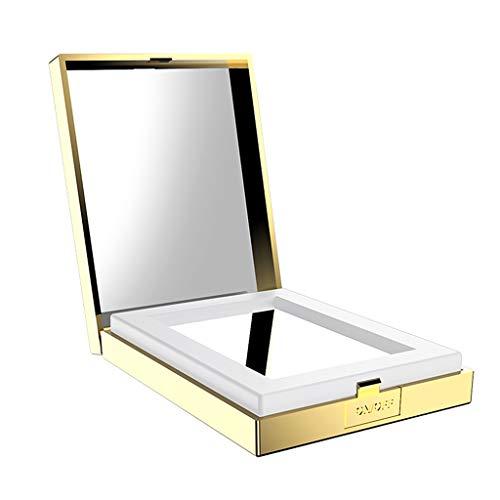 P PRETTYIA Make up Taschenspiegel 1X/10X Vergrößerungsspiegel Klappbarer Zweiseitiger...
