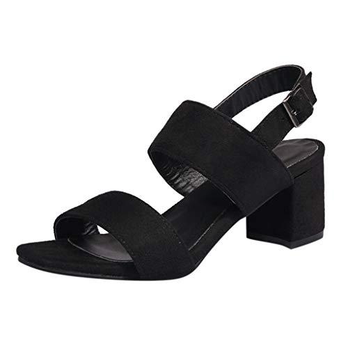 KERULA Sandali Donna, Unisex Adulto Summer High Heel Ankle Buckle Wild Scarpe da Donna Trekking Ciabatte può Essere Usato Spiaggia e Piscina Esterno