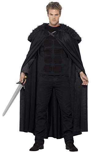 Game Of Thrones Halloween Kostüm Ideen - Smiffys, Herren Finsterer Barbar Kostüm, Oberteil