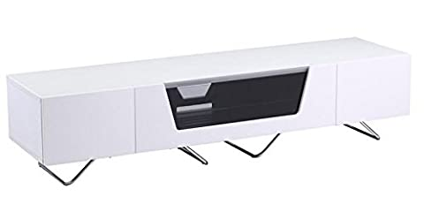 Alphason Chromium 2 1600 Blanc Meuble TV
