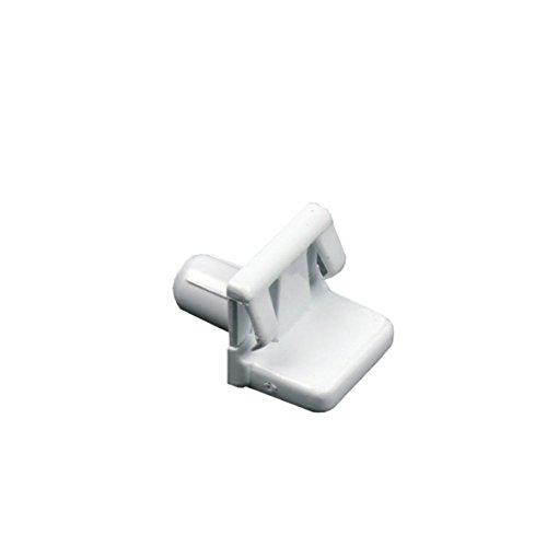 ORIGINAL Bosch Siemens 165789 00165789 Ablage Auflage Halter Zapfen 18x16x24mm Glasplatte Boden Fach Einschub Kühlschrank Gefrierschrank Kühl-Gefrier-Kombination auch Constructa Neff Balay