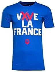 Vive La France - Tshirt de Rugby - Bleu