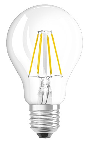 Preisvergleich Produktbild OSRAM LED Retrofit Classic A / LED-Lampe in Kolbenform mit E27-Sockel / Nicht Dimmbar / Ersetzt 40 Watt / Filamentstil Klar / Warmweiß - 2700 Kelvin / 1er-Pack
