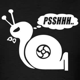 Turbo Snail Psshhh Funny Car Graphic Sticker White Amazon