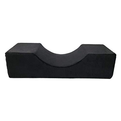 wxh cuscino per estensione ciglia, cuscino in memory foam per curva di estensione ciglia, cuscino per ciglia in schiuma con design ergonomico