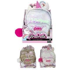 rivenditore di vendita 4592f 42e9d Nice- Zainetto Mini Backpack Girabrilla Unicorno-1 pz, Colore, 02530