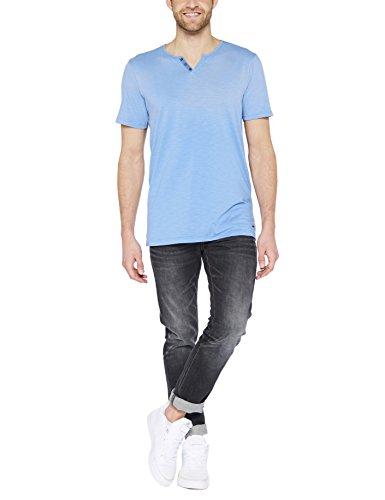 Colorado Denim Herren T-Shirt Vilho Blau (Indigo Light 6080 )