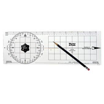 Weems & Plath Marine Navigation Protractor by Weems & Plath -