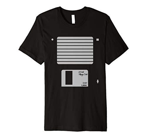 USB Floppy Disk Geek Computer Nerd Halloween-Kostüm T-Shirt