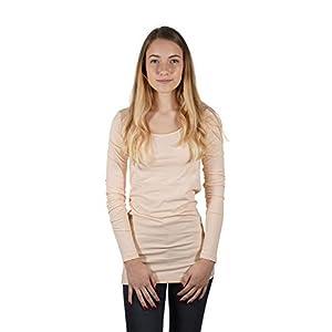 VERO MODA Damen Vmmaxi My Ls Soft Long U-Neck Noos' Langarmshirt