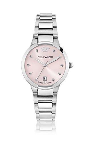 Philip watch Corley analógico de cuarzo para mujer-reloj acero R8253599508