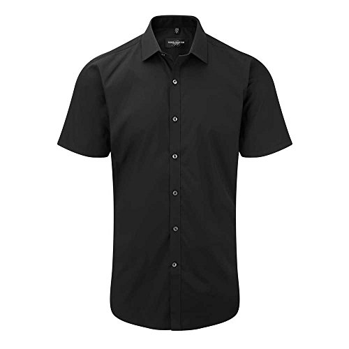 russell-collection-mens-short-sleeve-ultimate-stretch-shirt