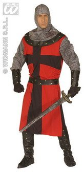 Kettenhemd Kostüm (Widmann - Mittelalterliches Ritter-Kostüm für Herren -)