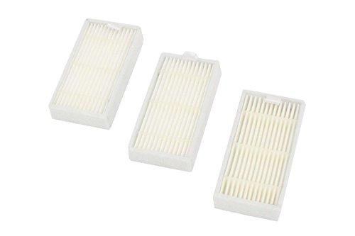 vhbw Ersatz Allergie Hepa Filter Set für Saugroboter Medion MD16192, MD18318, MD18500, MD18501, MD18600