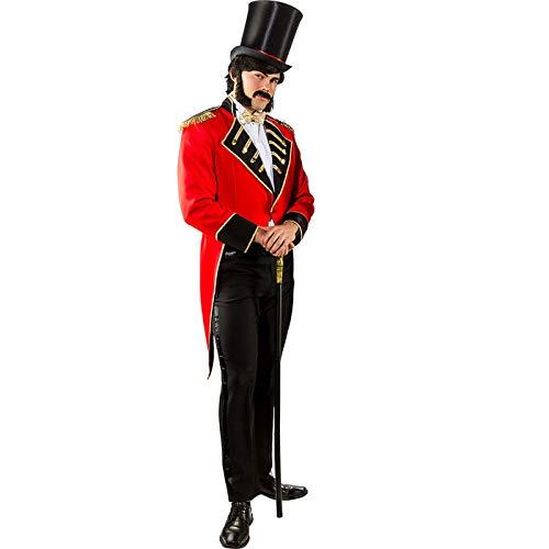 Kostüm Zirkusdirektor Herren - PARTY DISCOUNT® Herren-Kostüm Zirkusdirektor Frack, Gr. 56-58