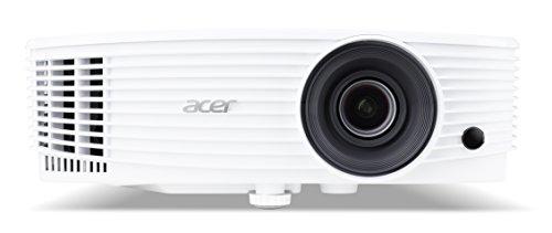 Acer p1150 proiettore, risoluzione svga, contrasto 20.000:1, luminosità 3.600 ansi, connessione hdmi, vga/mhl, altoparlante, bianco