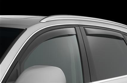 Mercedes GL-Klasse GL450GL550Windabweiser Sonne Visiere Regen Guards Aussen Trim Bezug Set 201020112012
