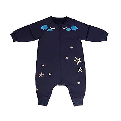Bebés Saco de dormir Bebamour Anti Kick Noches seguras Saco de dormir para bebés de algodón 2.5 Tog 0-18 meses y más Lindo saco de dormir para niñas y niños