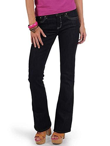 Mavi Damen Jeans Flare; 1013613128 Mid Rise, Boot Cut, Rynse Uptown Gr. 29/34 -