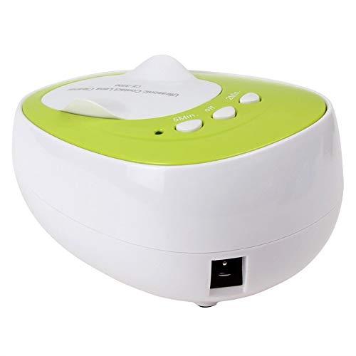 KHSW 4 ml Mini Kontaktlinsen Ultraschall Reiniger 7 watt 46 kHz Reinigung Maschine Tägliche Pflege Ultraschall Washer,Green
