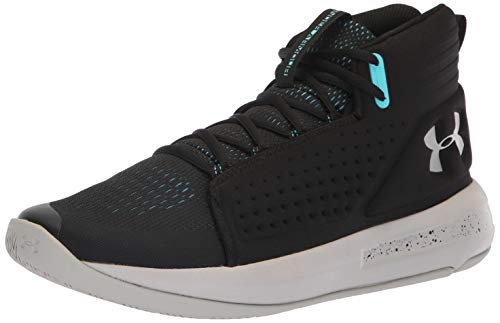 Under Armour UA Torch, Scarpe da Basket Uomo, Nero (Black/Ghost Gray/Alpine), 43 EU