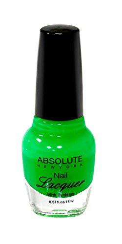 NEW YORK Vernis à ongles absolue – Green Neon, 1 pièce