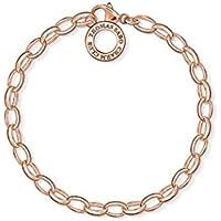 THOMAS SABO donna-braccialetto 925 argento, 750 Roégold X0031 - 415-12-L