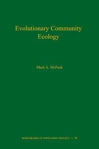 Pdf community ecology