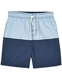 next Niños Pantalones Cortos Bloques De Color (3-16 Años) Corte Estándar