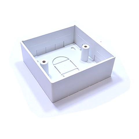 Surface Montage Arière Boîte Pattress Boîte 1 Gang 32mm