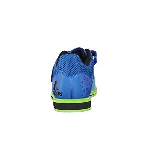 Adidas Powerlift 3 Weightlifting Scarpe - SS17 Unity Blue F16/Ftwr White/Semi Solar Green